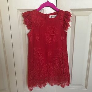 Lace little girls dress
